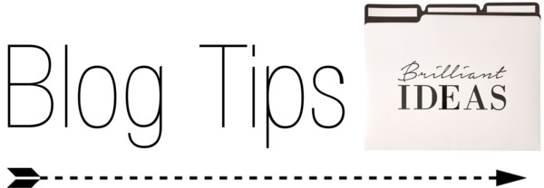 Blog Tip Tuesday