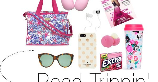 road trip survival bag