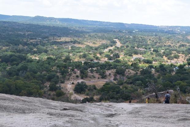 enchanted rock climb