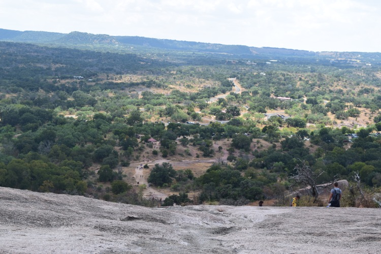 enchanted rock climb