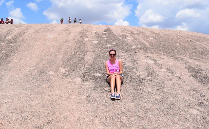 Climbing Enchanted Rock