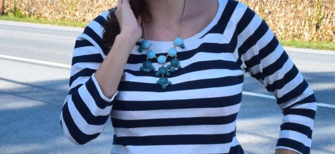 blue statement jewelry
