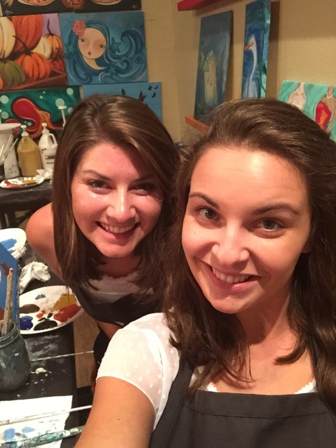 best friends for painting