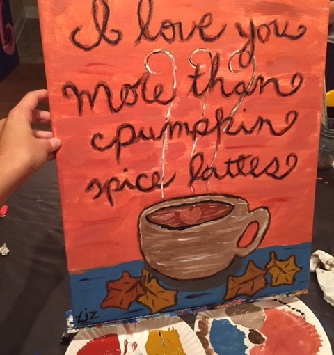 Pumpkin Spice and Paint