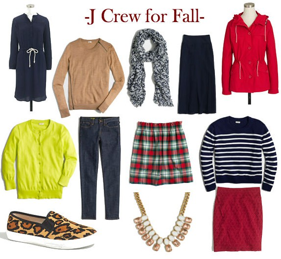 jcrew fall collection