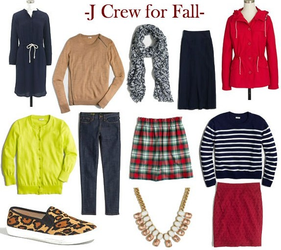 J Crew Steals for the Fall