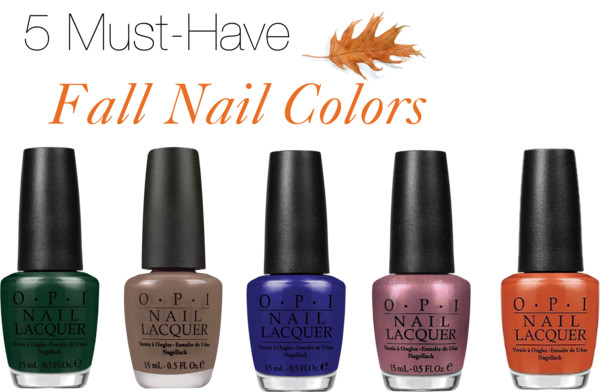5 Must-Have Fall Nail Colors