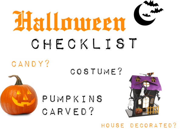 Easy Halloween Checklist