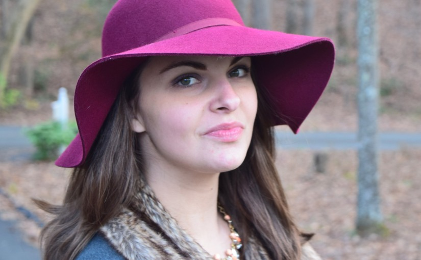 Styling a Floppy Hat