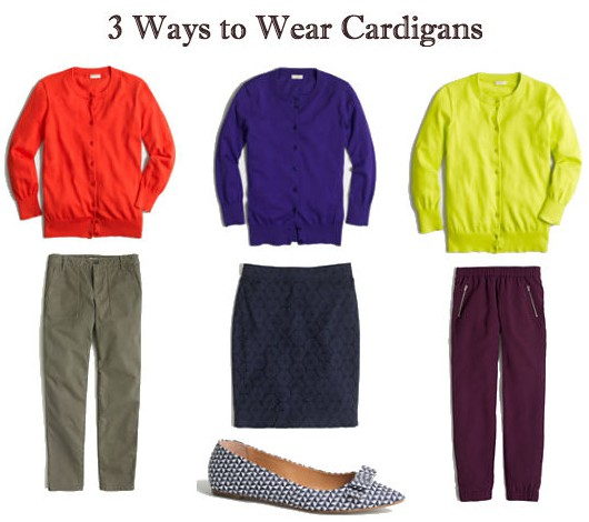 Unique Ways to Wear Cardigans