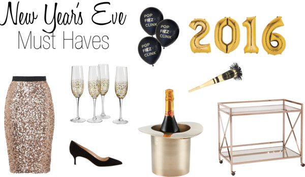 New Year's Eve Must Haves