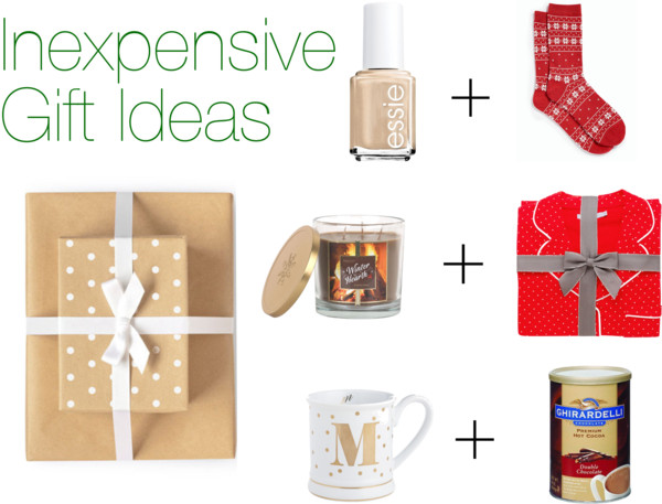 cheap gift ideas