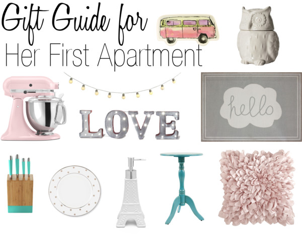 Gift Guide for Her First Apartment