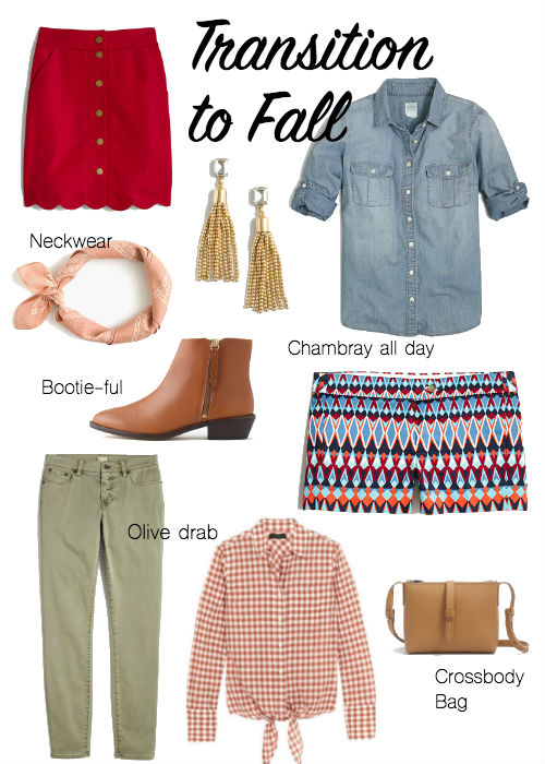 summer fall clothes