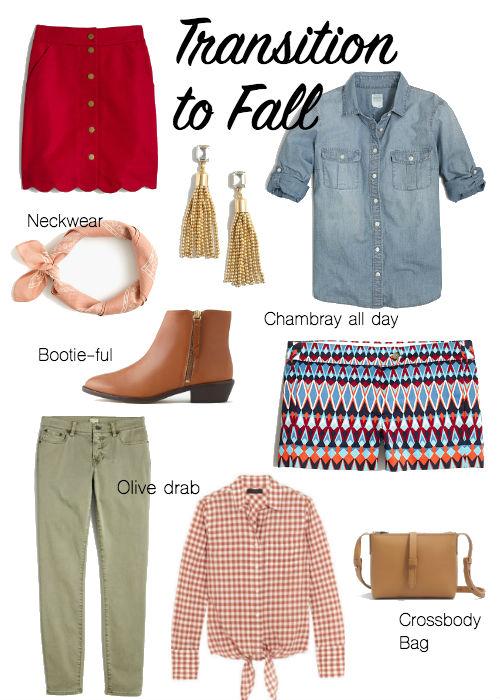 summer fall clothes