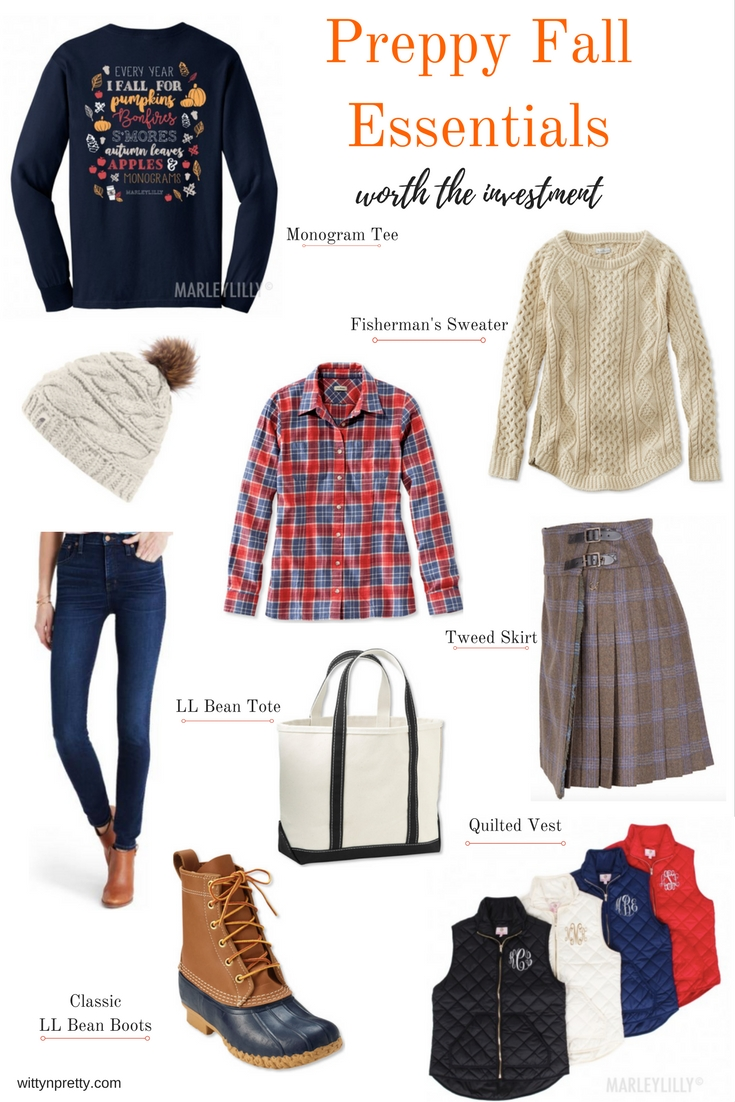preppy clothing for fall