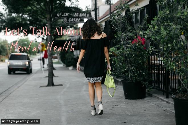 girl walking down the street in dallas