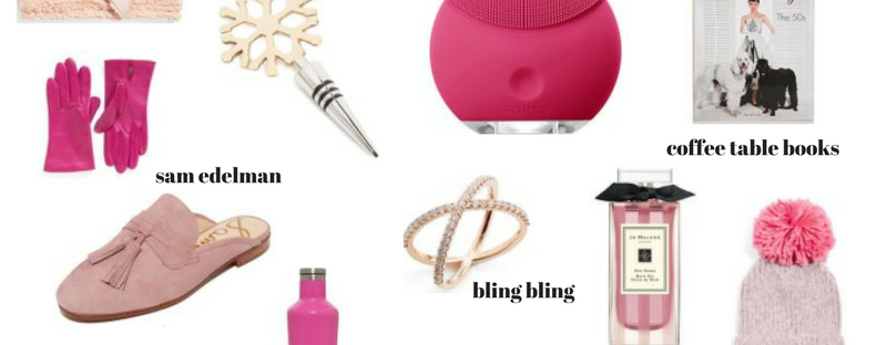 pink holiday gift guide