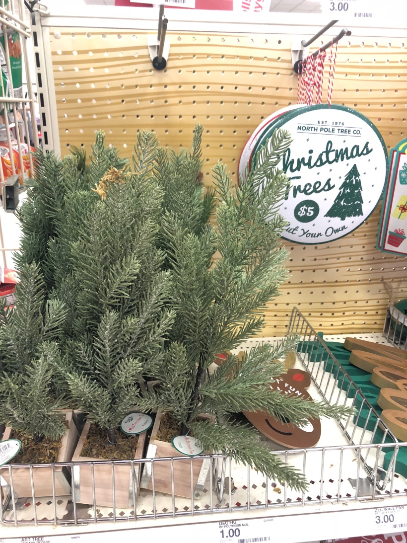 target christmas trees