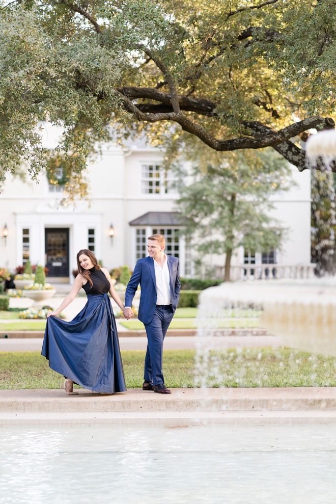 engagement photos flippen park dallas
