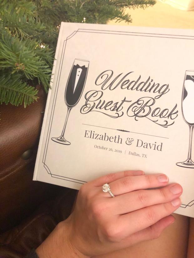 purple trail wedding book
