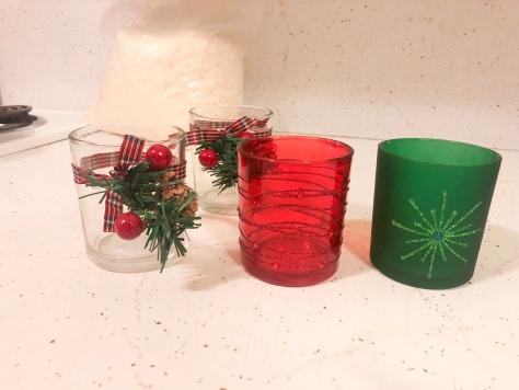 christmas candle making