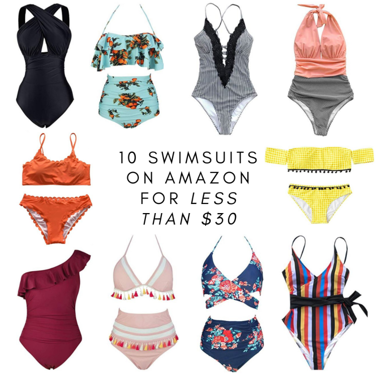multiple swimsuits