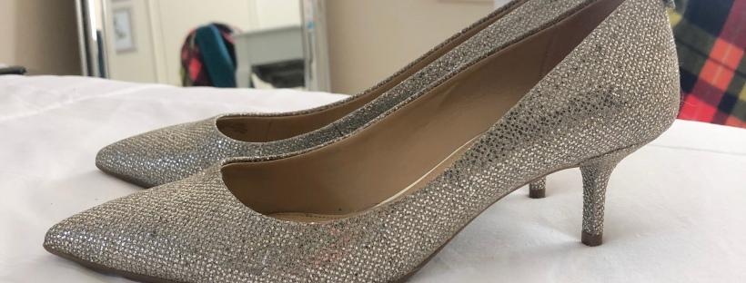 michael kors sparkly heels