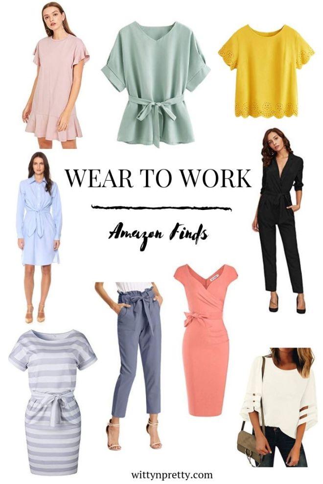 amazon work wear style