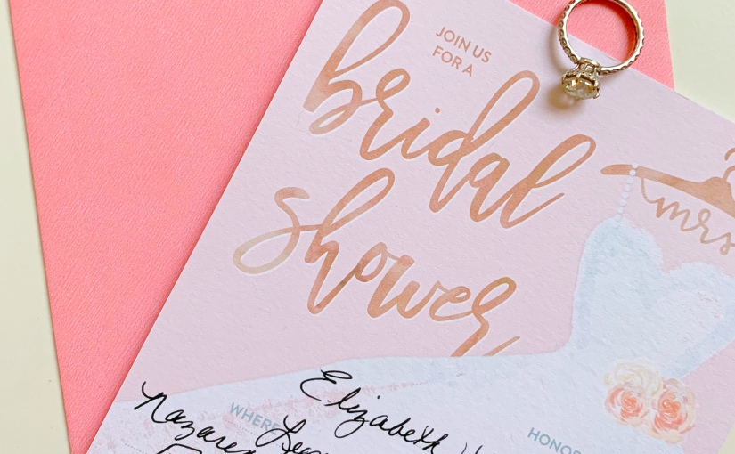 The Prettiest Rose Gold-Themed Bridal Shower!