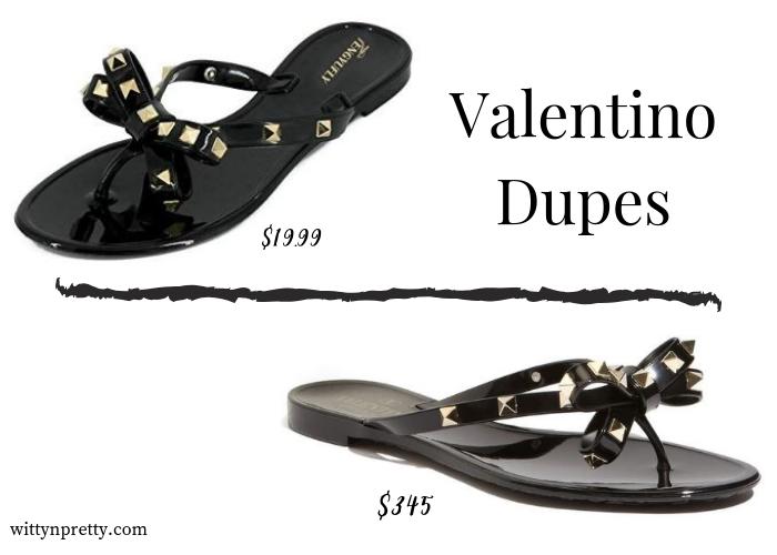 valentino dupes
