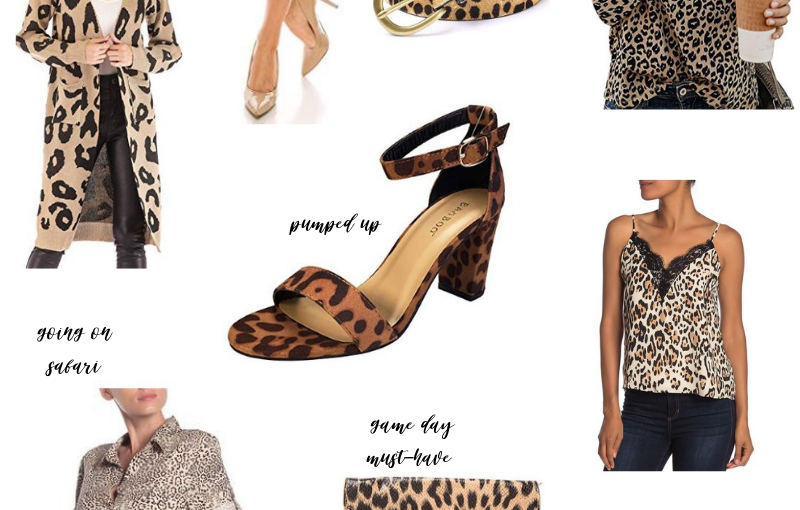 Leopard Print Trend ThisFall
