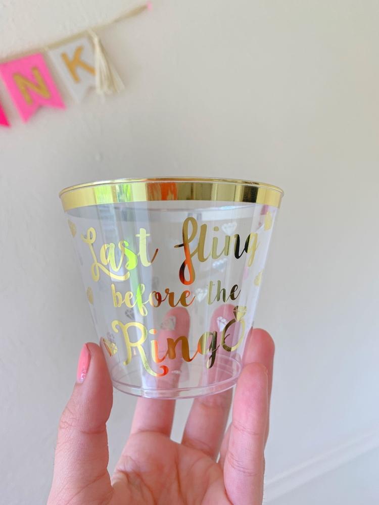 bachelorette cups