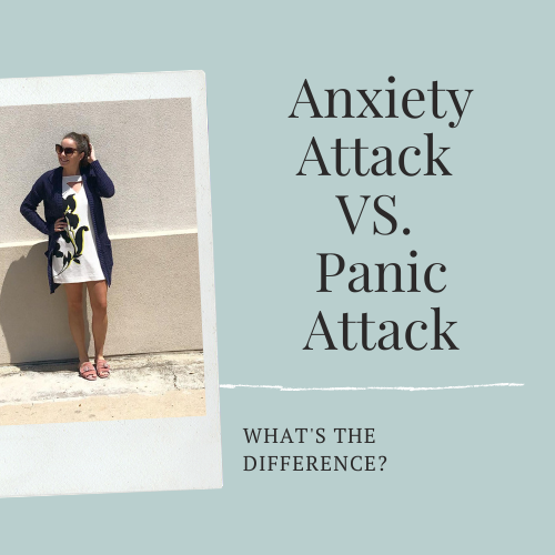 anxiety vs panic