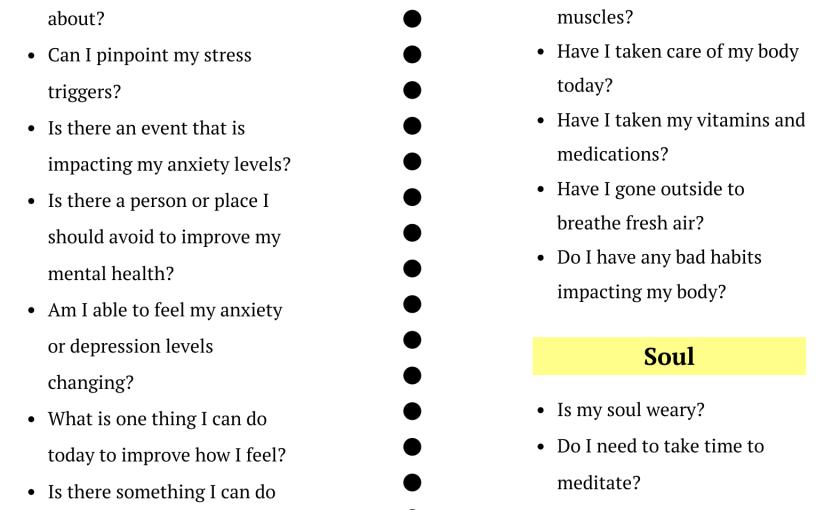 The Wellness CheckupQuestionnaire