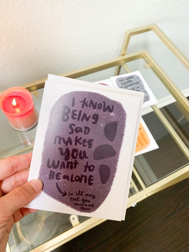 linda battson greeting card