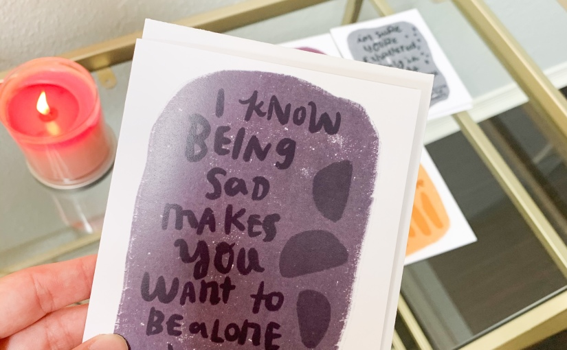 What to Say When Sending a Mental Health Greeting Card
